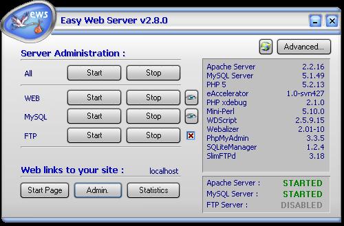 zazou mini web server